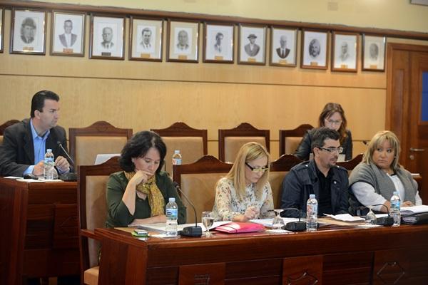 La oposición, por unanimidad, se mostró ayer muy severa en su crítica a la gestión del grupo de gobierno. / DA