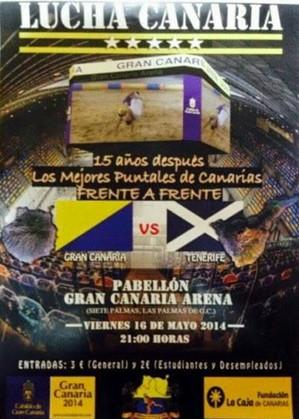 cartel Gran Canaria - Tenerife