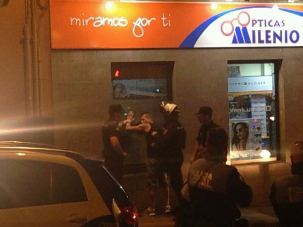 Detienen a uno de los agresores a miembros de Izquierda Unida Canaria. / <a href=