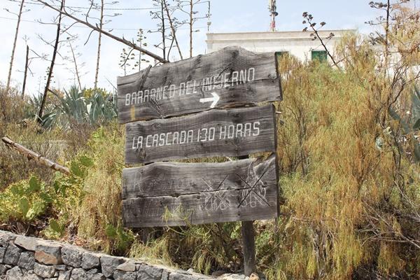 Los nacientes del barranco tienen una protección especial. | DA