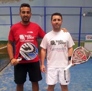 Cristian Brito y Raúl Pérez. / J.S.S