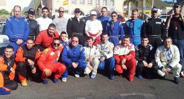 Participantes en Regularidad Sport Rally Norte