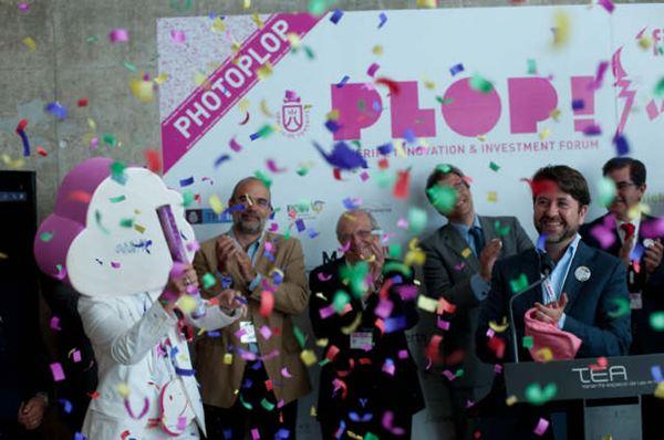 Carlos Alonso inauguró esta mañana la feria de innovación.