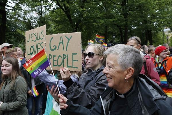 Orgullo gay en Oslo. / DA