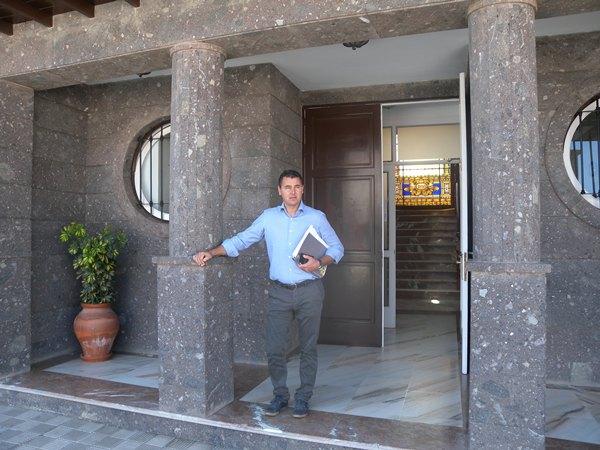 Andrés Martínez, concejal ariquero de Agricultura, Ganadería y Pesca. | DA
