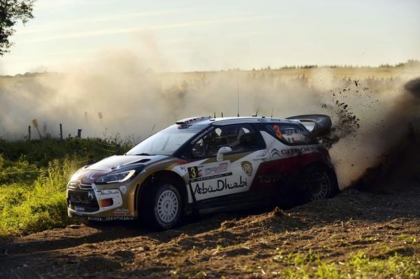 Crhis Meeke  Citroën DS3 WRC
