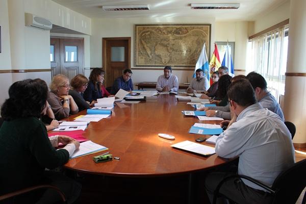 Reunión del consejo de administración del 13 de junio. / DA