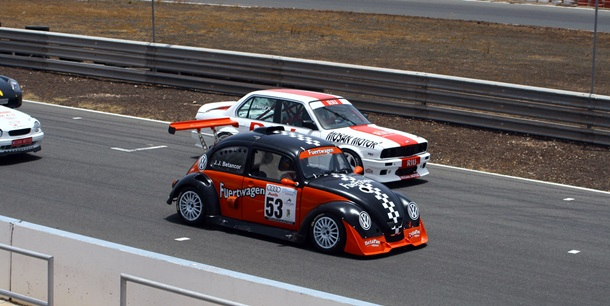 Varios participantes en una de las últimas carreras en Maspalomas. | DA