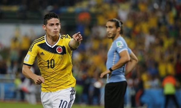Sanción de 10.400 euros al futbolista James Rodríguez por desobediencia a la policía
