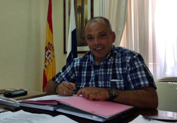 Mederos es segundo teniente de alcalde y concejal de Hacienda. | DA