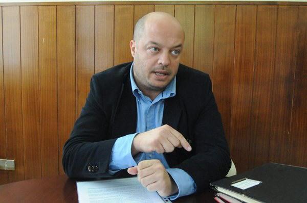 José Díaz-Flores durante la entrevista. | DA