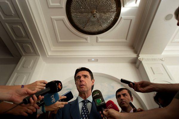 Imagen de archivo del ministro Soria. / F. P.