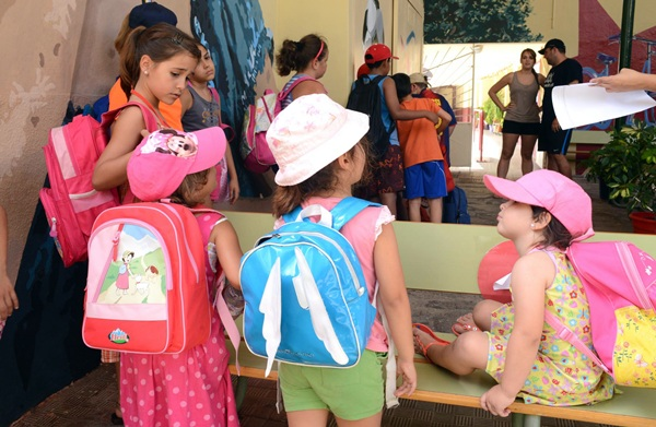 Los pequeños desarrollarán distintas actividades relacionadas con la salud o el medio ambiente. / S. M.