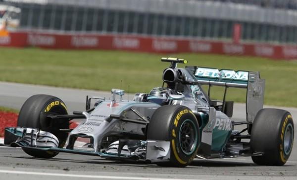Nico Rosberg Mercedes GP Canadá Formula Uno