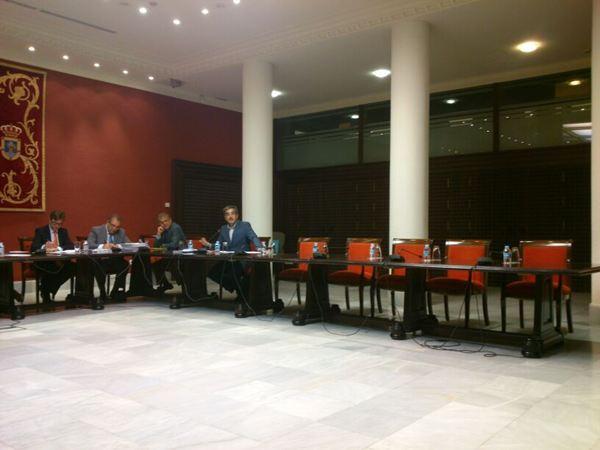 Los grupos parlamentarios han lamentado que los representantes de las corporaciones no hayan acudido al encuentro.