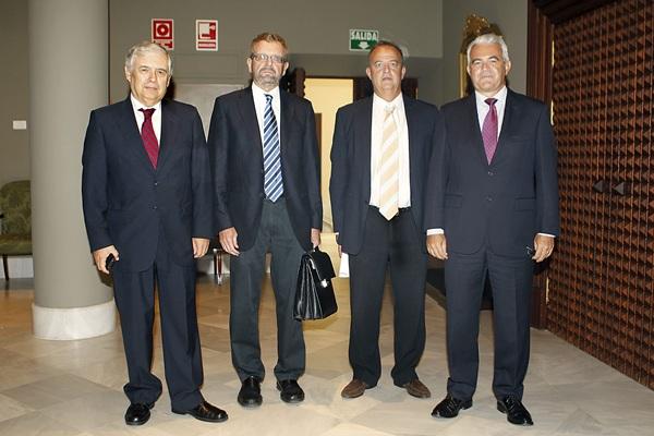Parte de los miembros del Consejo Consultivo de Canarias. / S. MÉNDEZ