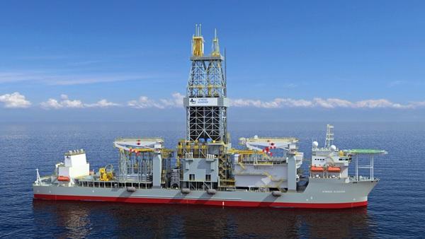 Barco para la realización de sondeos exploratorios de hidrocarburos en aguas profundas. / DA
