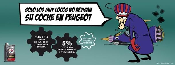 Peugeot y Los Autos Locos