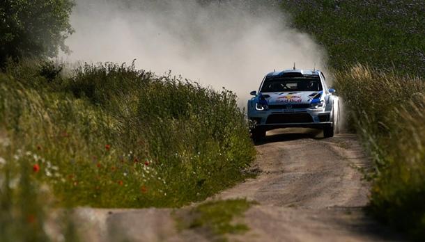 Sébastien Ogier Volskwagen Rally de Polonia