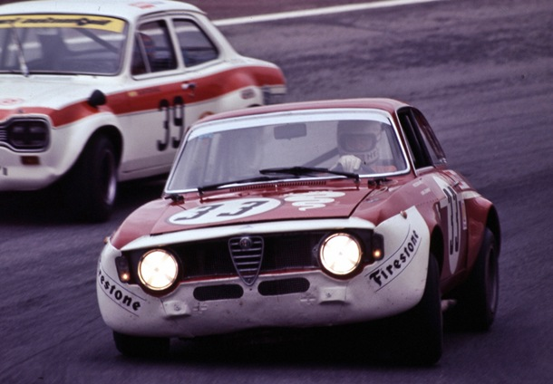 Toine Hezmans Campeon Turismo 1972 Alfa Romeo GTA 1300 Junior