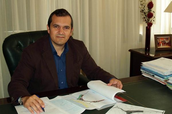 Valentín González, alcalde de San Miguel. | DA