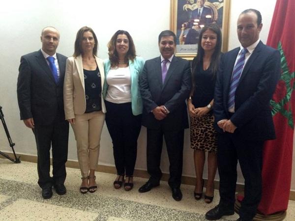 Imagen de los participantes en el encuentro mantenido en la ciudad marroquí. / DA