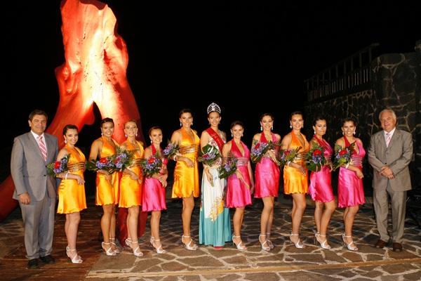 Este año son diez las candidatas a reina de las fiestas. / DA