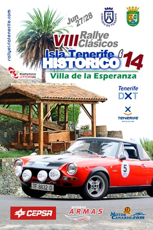 VIII Rallye Clásicos Isla Tenerife Histórico,