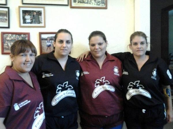 Yasmina Fariñas, Inés Cano, Ana Arteaga y Esther Lorenzo. | DA