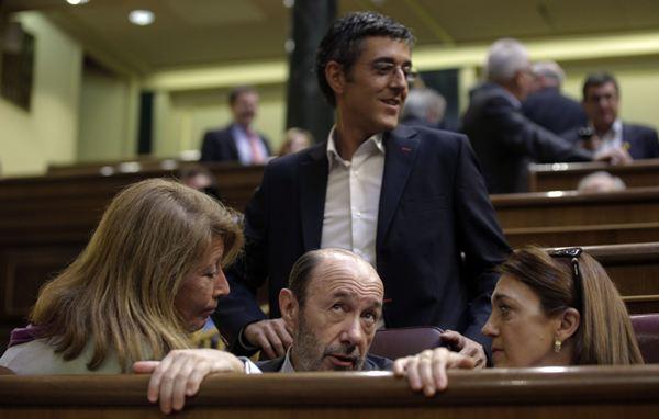 Eduardo Madina, en el Congreso. / REUTERS