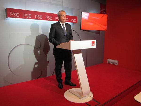 Dimite el líder de los socialistas catalanes porque entiende que el partido debe afrontar cambios sin él