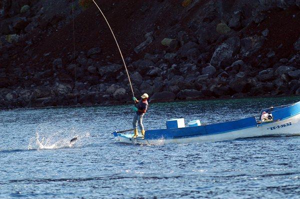 El parque nacional marino también dejará unas zonas acotadas para la pesca tradicional con caña. | DA