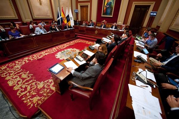 El PP denunció en el pleno que el plan no acerca la ciudad al mar. | F. P.