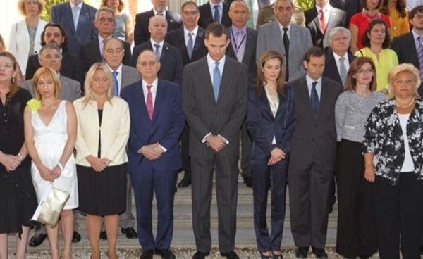 Reyes y víctimas del terrorismo