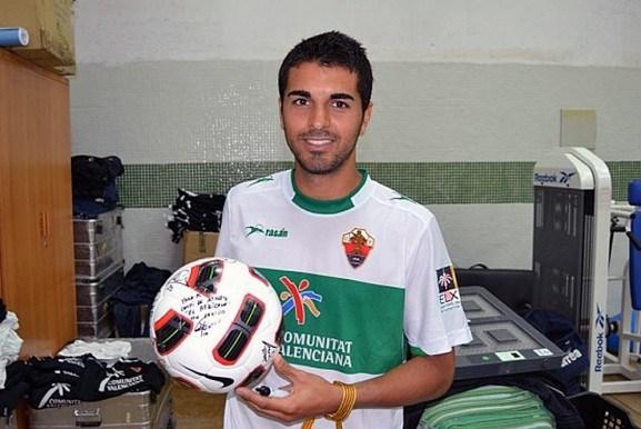 Ángel Rodríguez, en su etapa como jugador del Elche CF. | DA