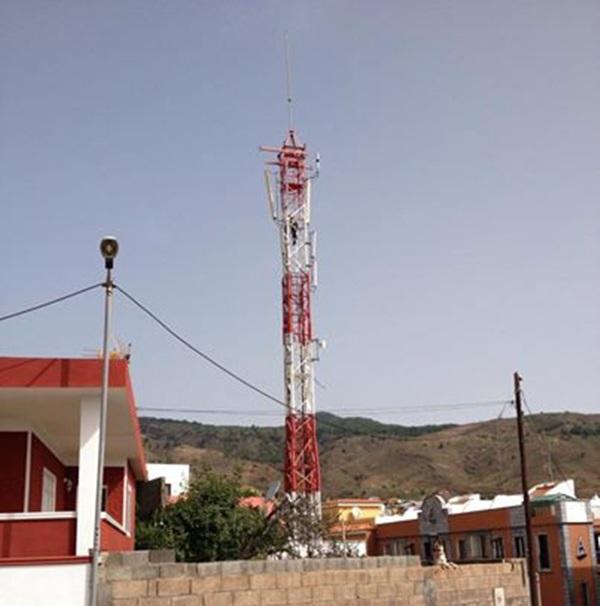 Antena en Barranco Hondo. / DA