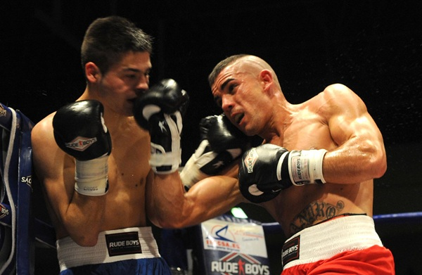 Sandro Domínguez hará el combate de fondo frente a Clark Telemanou. / SERGIO MÉNDEZ