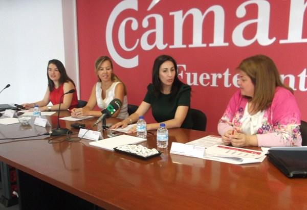 Imagen del acto de presentación del Índice de Confianza Empresarial, que tuvo lugar en Fuerteventura.