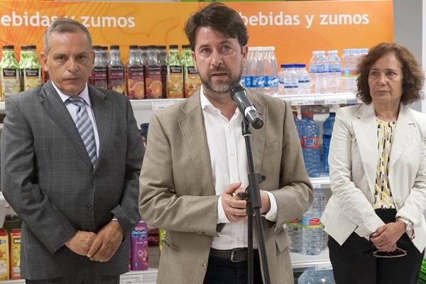 El presidente insular, Carlos Alonso, presentó ayer el programa de acciones a desarrollar. / DA