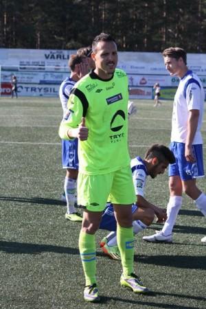 El portero tinerfeño cumple su segunda temporada en el fútbol nórdico.   DA