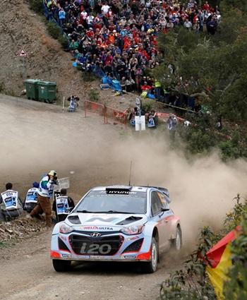 Dani Sordo Marc Marti Hyundai i20 WRC