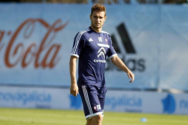 El delantero David Rodríguez, en su etapa como jugador del RC Celta de Vigo. | JORGE LANDÍN