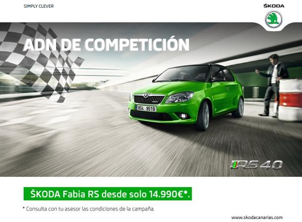 Promocion Fabia RS (Rally Sport)