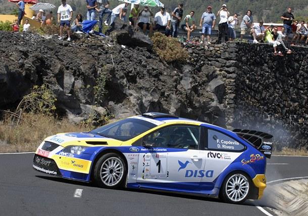 Fernando Capdevila y David Rivero Ford Focus WRC Rally Senderos de La Palma