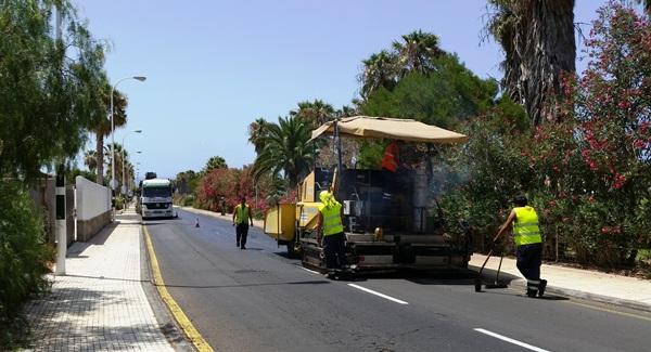 Las obras de reasfaltado son necesarias para el tránsito hacia la costa sanmiguelera. / DA