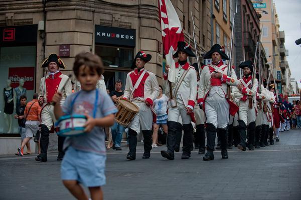 La Asociación Histórico-Cultural Gesta 25 de Julio se encargará el sábado de recrear el acontecimiento.   F. P.