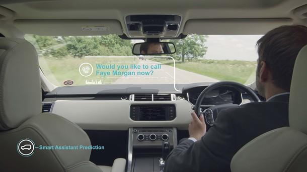 Jaguar Land Rover Self Learning Car