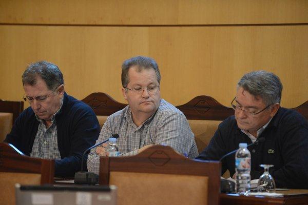 Jorge Baute, Pinto y Ramón Gil, tres de los que no quieren repetir. | DA
