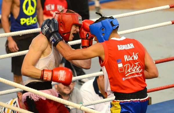Josué López (izquierda) no pudo superar a un gran rival. | SERGIO MÉNDEZ