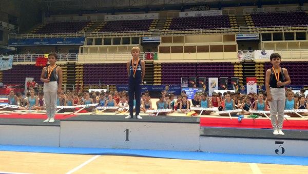 Kirill en lo alto del podio. | DA